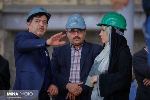 Pavement construction plan of Chaharbagh to run in Ghazvin