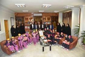 کودکان میهمان ویژه شهردار شهرضا