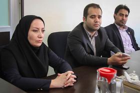 بازدید مدیر روابط عمومی شهرداری قزوین از مجموعه رسانه ایی شهرداری اصفهان