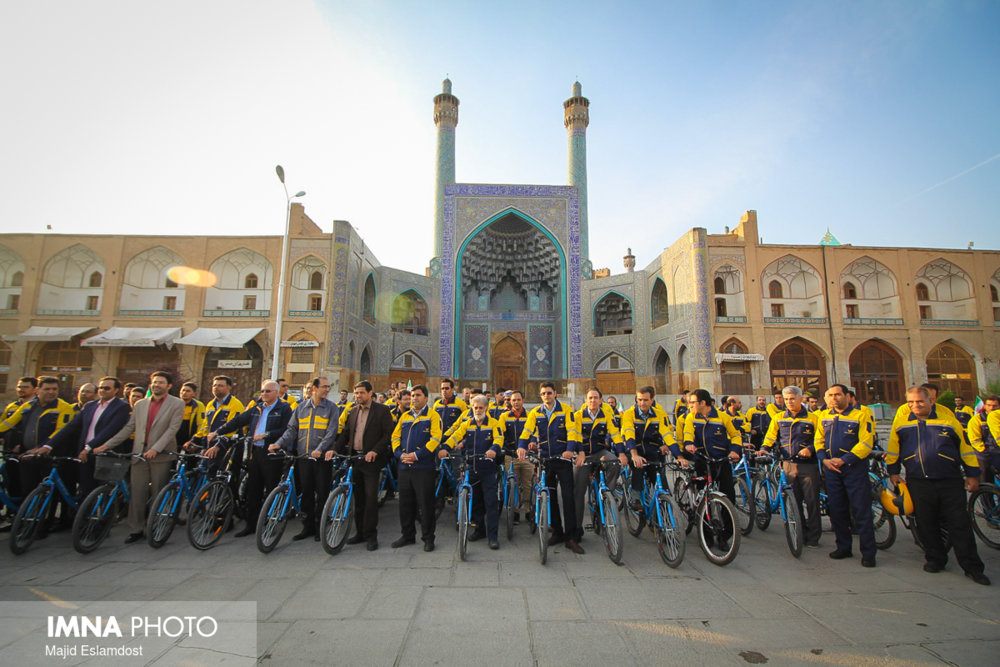 World post day parade in Isfahan