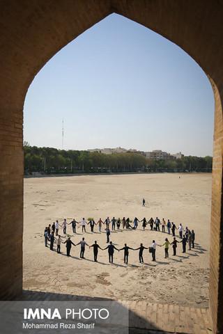 پیام مهربانی از یزد به اصفهان