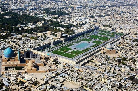 Isfahan's urban planning on top