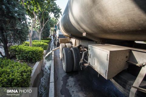 تمهیدات شهرداری اصفهان برای آبیاری فضای سبز در تابستان خشک