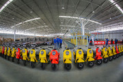 Largest electric motorcycle assembly line factory opened in Isfahan