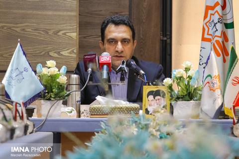 نشست خبری معاون اجتماعی و پیشگیری از وقوع جرم دادگستری اصفهان