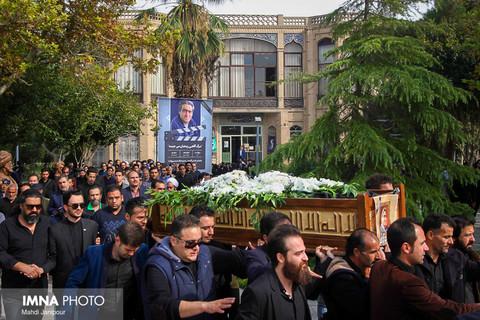 مراسم تشییع حمید محمدی