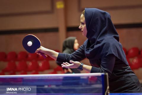 مسابقات تنیس روی میز بانوان شهرداری های کلان شهر ها