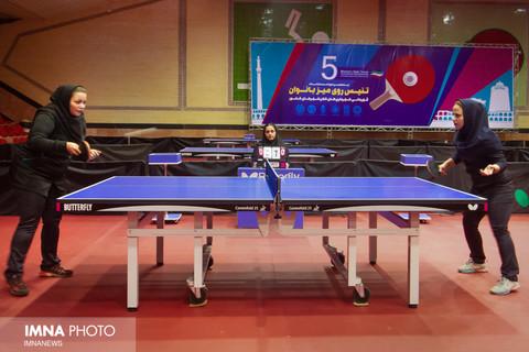 تغییر زمان پلیآف لیگ برتر تنیس روی میز بانوان