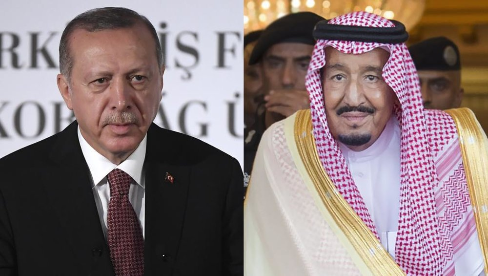 تماس تلفنی ملک سلمان با اردوغان درباره پرونده خاشقجی