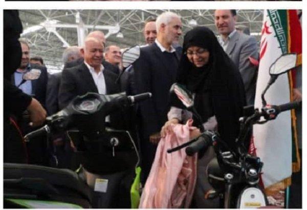 آغاز فعالیت خط تولید و شمارهگذاری موتورهای برقی در اصفهان