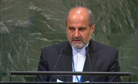 ایران از طرح مباحث خارج از وظایف شورای امنیت انتقاد کرد
