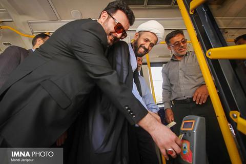 افتتاح خط ۵۶ اتوبوس دهنو، میدان استقلال