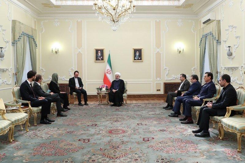 ایران آماده تقویت همکاریهای اقتصادی و سیاسی با اروپا است