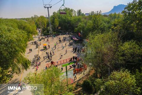 تعطیلی تمامی مراکز گردشگری ناژوان تا ۱۵ فروردین ۹۹