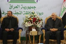 دیدار استاندار اصفهان با همتای خود در نجف اشرف