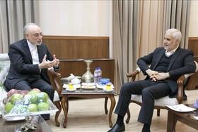 دیدار صالحی با استاندار اصفهان