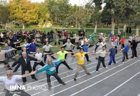 ۱۱ سمن در حوزه ورزش همگانی اصفهان فعال است