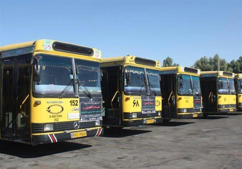 آمادگی ۱۵۰ دستگاه اتوبوس برای جابجایی زائران اربعین