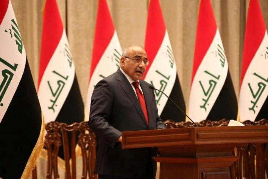 عبدالمهدی: مانعی برای شنیده شدن صدای مردم عراق وجود ندارد