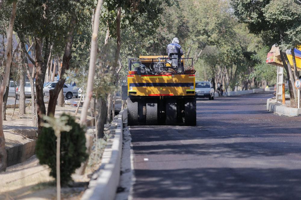 توزیع بیش از ۱۴۱ هزار تن آسفالت برای پوشش معابر ارومیه
