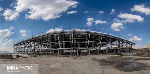 پیشرفت پروژه نمایشگاه بزرگ اصفهان  چشمگیر است