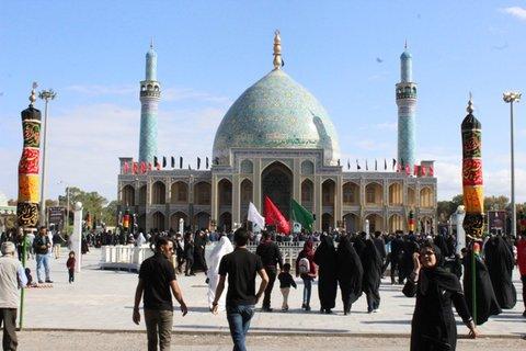 ساخت فضاهای جدید در آستان آقاعلی عباس بادرود