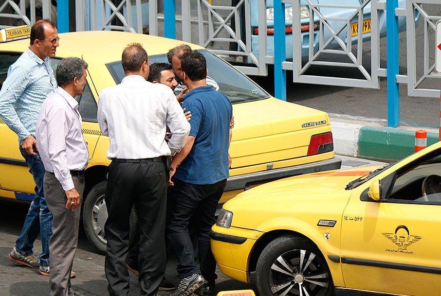 برخورد با رانندگان متخلف تاکسی در یزد