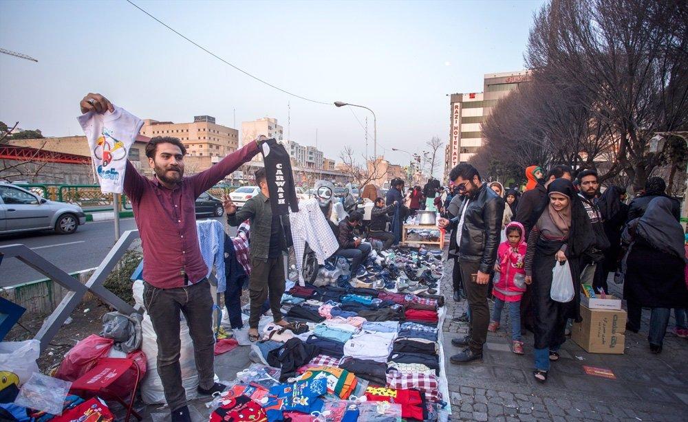 شورا همچنان در انتظار لیست دستفروشان تهران