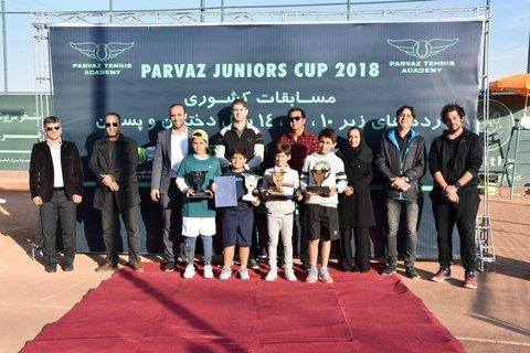 نفرات برتر ردههای سنی مسابقات تنیس قهرمان کشوری معرفی شدند