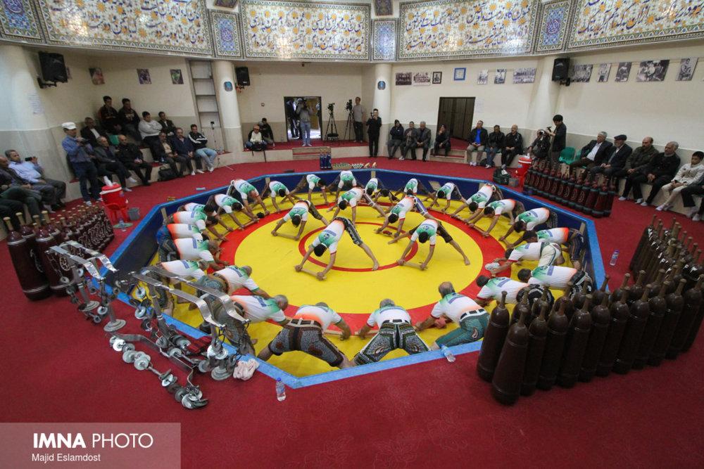 مراسم گرامی داشت روز ملی ورزش پهلوانی برگزار شد