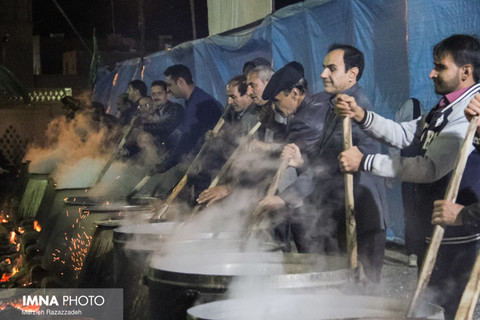 برای پخت غذای نذری از سنگ نمک استفاده نشود