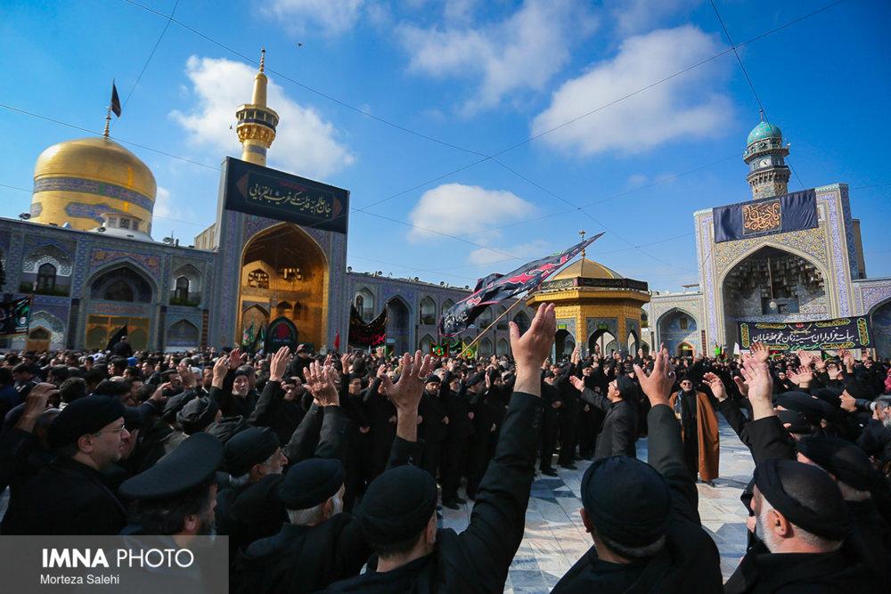 عزاداری روز شهادت امام رضا (ع) در مشهد مقدس