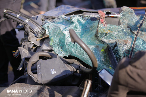حادثه مرگبار واژگونی تانکر