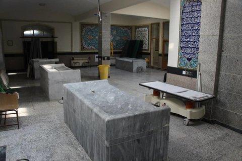 احداث غسالخانه جدید در آرامستان ساری