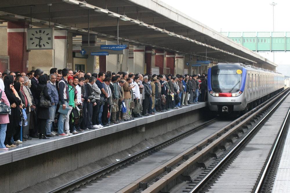 جابهجایی بیش از ۲۳۵ هزار مسافر توسط قطارشهری مشهد
