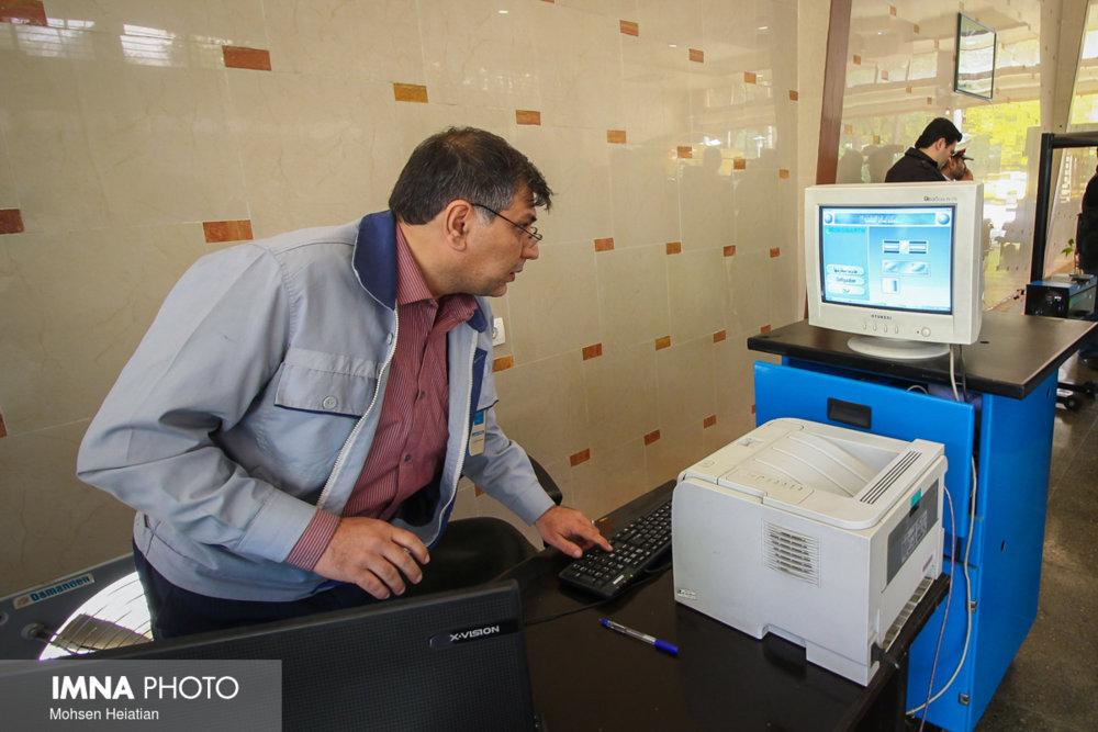 معاینه فنی ماهانه  ۴ هزار خودرو خدمات شهری شهرداری مشهد