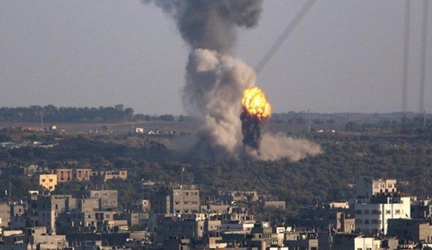 حمله هوایی و توپخانه ای رژیم صهیونیستی به باریکه غزه