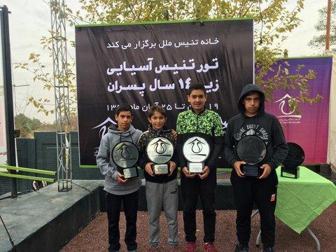 قهرمانی ۲۰۰ امتیاز نظری در تور تنیس آسیا