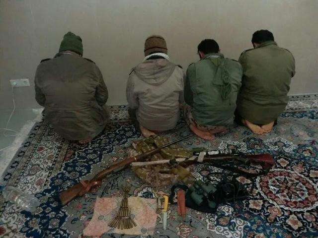 دستگیری ۴ شکارچی غیرمجاز در کرکس اصفهان