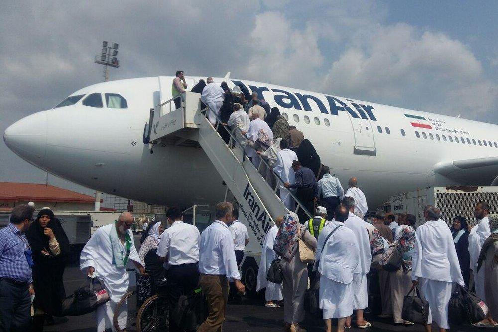 اعزام بیش از ۱۷۰ هزار مسافر در پروازهای حج تمتع امسال