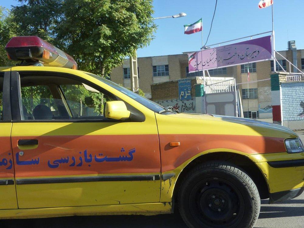 نظارت میدانی بر تاکسیهای درون شهری سمنان