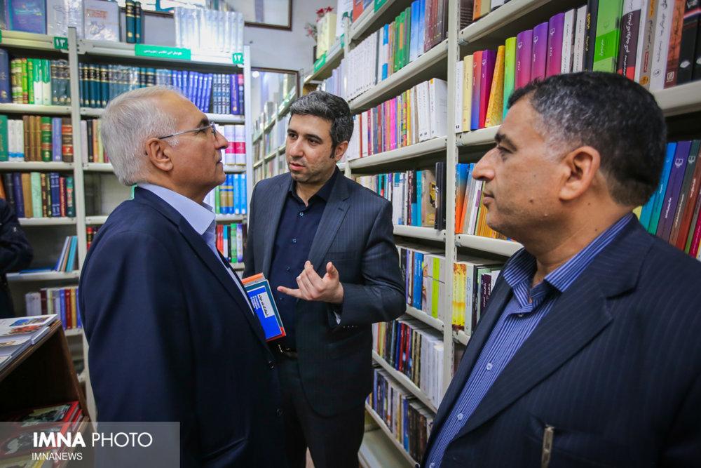 کتابگردی شهردار اصفهان