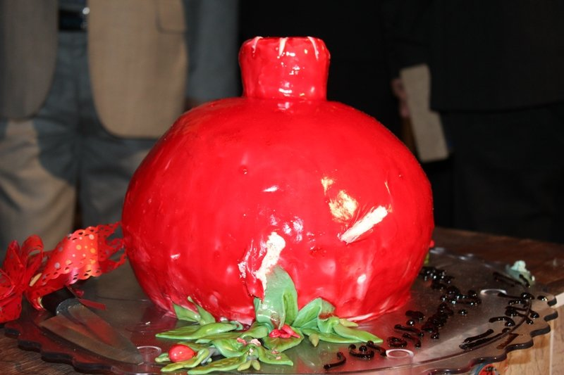 رونمایی از تمبر دوازدهمین جشنواره انار بادرود
