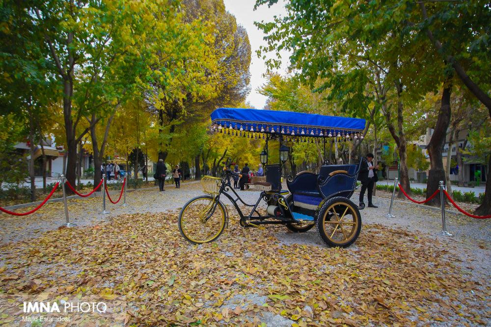 چهارباغ اصفهان زیباتر می شود