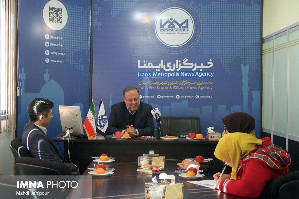بازدید مدیر عامل سازمان ساماندهی مشاغل شهری شهرداری اصفهان از ایمنا