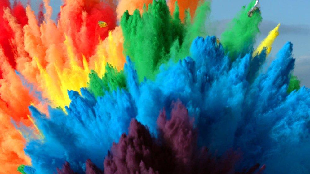 معجزه رنگها در فضای مجازی