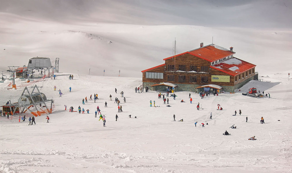 Tochal popular ski resort