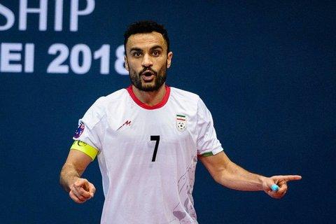 کاپیتان تیم ملی فوتسال رکورد شکنی می کند؟