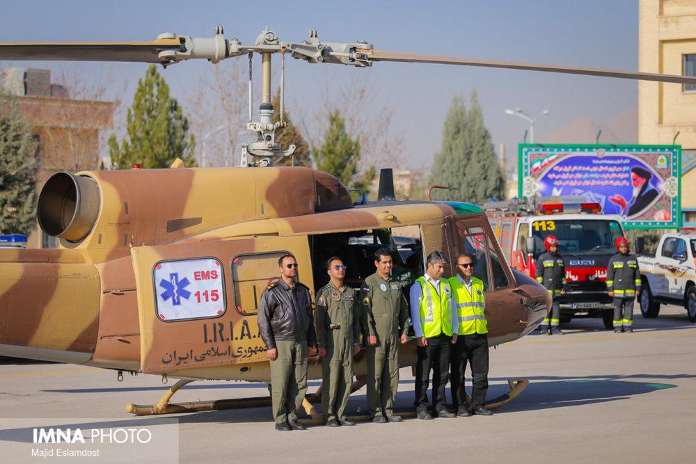 پلیس ۱۱۰ نجف آباد روزانه ۲۵۰ماموریت انجام میدهد