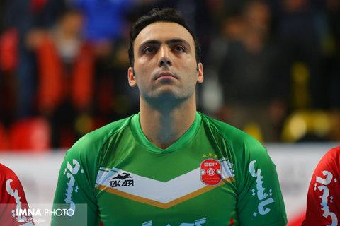 سپهر محمدی در راه اروپا/ خداحافظی عقاب در بازی خانگی گیتیپسند